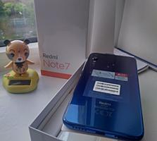 Тестированный Сяоми Redmi note 7 3/32 Gb Blue VoLTE + стекло Q. C 3.0