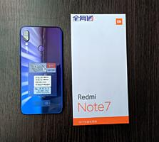 Продам телефон REDMI NOTE7.CDMA+GSM одновременно. Синий. 4/64gb.