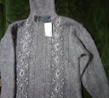 Женский свитер большого размера 54-58, толстый мохеровый