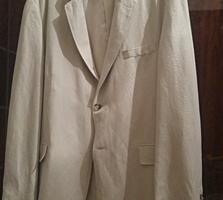 Продаю новый мужской льняной пиджак фирмы BIAGGINI размер 56-58.