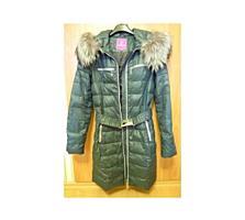 Зимнее пальто б/у, пуховое. Размер 42 (S)