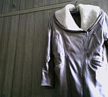 Женская кожаная куртка, 50-52 (Б/У)