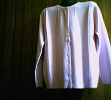 Женская лиловая кофточка
