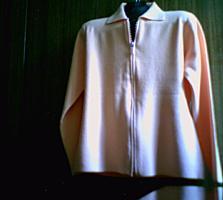 Женская абрикосовая жакет-кофточка, 46-48 (Новая)