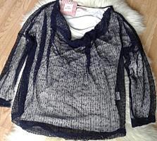 Блузка с сеточкой