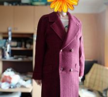 Пальто, шерсть 100%, большой размер 54-56