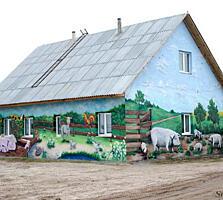 Продается дом с частной свино-фермой и большим участком в с. Андреевка