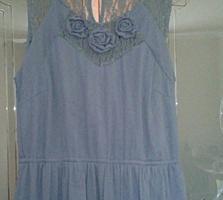 Нарядное платье длинное в пол Размер 44-46.