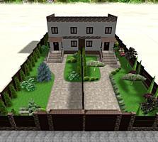 Duplex în 2 nivele 120 mp (Cricova)