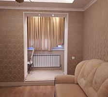 Botanica, Dacia. Apartament cu 2 odai, total renovat, euroreparatie.