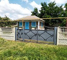 Продаются 2 дома на одном участке. 24 соток село Сингурень, пригород Б