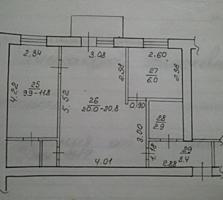 2-комнатная квартира, большая, Суклея