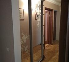 """Отличная 3-комнатная, 4/9 эт. """"Причерноморье"""". 72м2. Ремонт, техника."""