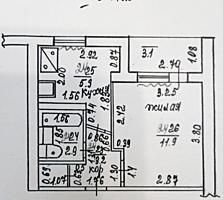 Однокомнатная квартира, 4/5 эт., Бендеры, Центр. Цена обсуждается!