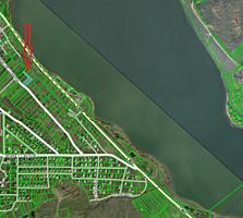 Участок 15 соток под строительство на берегу Данченского озера
