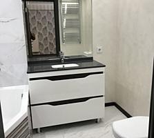 Riscani. Apartament cu 1 odaie + living in bloc nou, design individual