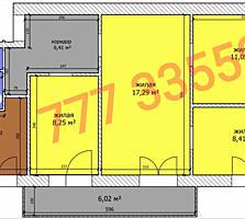 Продается 4-комнатная квартира в центре Бендер