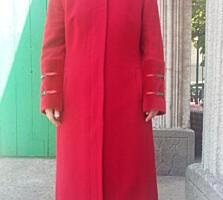 Пальто, кожаная куртка, шуба цигейка натуральная