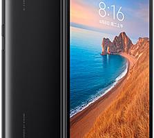 VOLTE+GSM!! Новый! Сяоми redmi 7А, 2/32Gb. Тестирован!! Черный цвет.