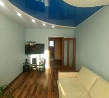 2-х комнатная с евроремонтом в новострое 56м2.