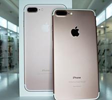 iPhone 7 Plus 128GB! C коробкой! Rose Gold!