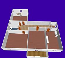 Продается 3х комнатная, Бородинка, ул Крупской.