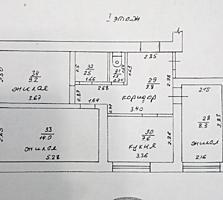 "Борисовка, район м-на ""Шериф"", 3-комнатная квартира в бывш. общежитии"