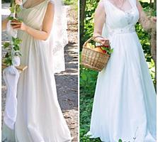 Продам свадебное платье в греческом стиле 1000 руб