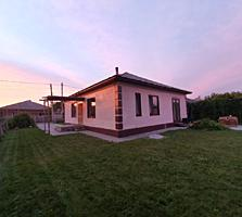 Дом в современном и лаконичном стиле.