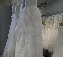 Свадебные платья белые, размер L-XL