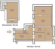 Urgent!!! Casa 2 nivele cu garaj si sura Bucuresti 57