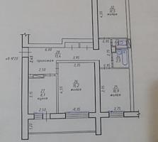 3 комн. квартира, г. Тирасполь Чешка, хорошая планировка