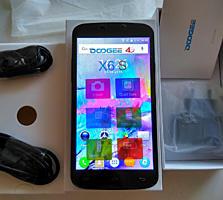 Новый 4G смартфон Doogee X6S, 2 SIM, HD 5.5. Наушники, чехол и пленка