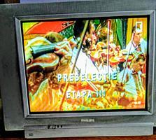 ТЕЛЕВИЗОР PHILIPS 600 лей, DVD плеер 150 лей