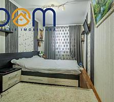 Apartament cu 3 camere separate, etajul 3 din 5, mobilat, Botanica