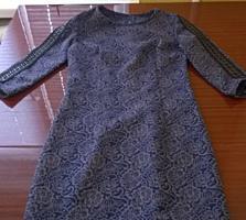 Платье осень-зима р XS