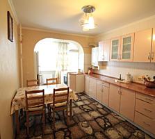 De vânzare apartament cu 3 odăi la Botanica, casă nouă, reparație euro