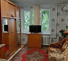 Мунчешты, комната с удобствами, 20м, евроремонт, мебель, 3/5этаж