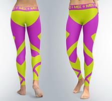 Leggings Fit Girl Purple