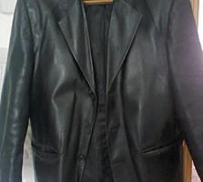 Продам шкіряний піджак