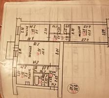 Продам квартиру 2/5 Хомутяновка. 3 комнаты.