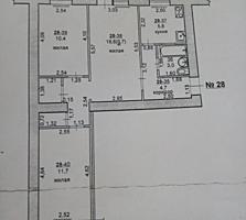 БЕНДЕРЫ ЛЕНИНСКИЙ 3-к кв. под ремонт 2/5 58,7/41,7/5,8 балкон 3 кв. м.
