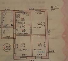 Продаётся кирпичный дом р-он Мечникова, 14 шк, 4 комнаты, все удобства