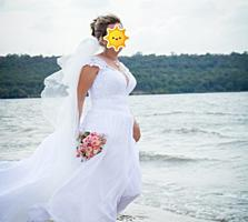 Продам свадебное платье. Не венчанное.