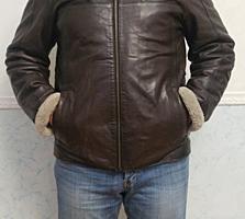 Натуральная итальянская дубленка 50-52 размер б/у