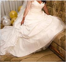 Продам шикарное свадебное платье для будущей невесты, обмен