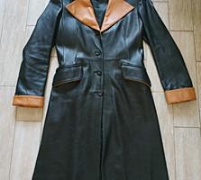Продается кожаное пальто (НОВОЕ)
