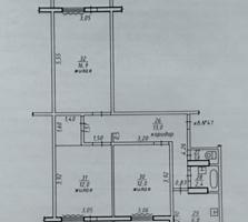 Продам 3-комнатную квартиру в пгт. Первомайск