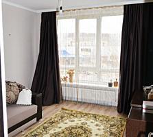 O camera in casa noua din caramida rosie