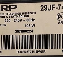 1200 лей. TV Sharp, оригинальный, большой, пользуюсь другим